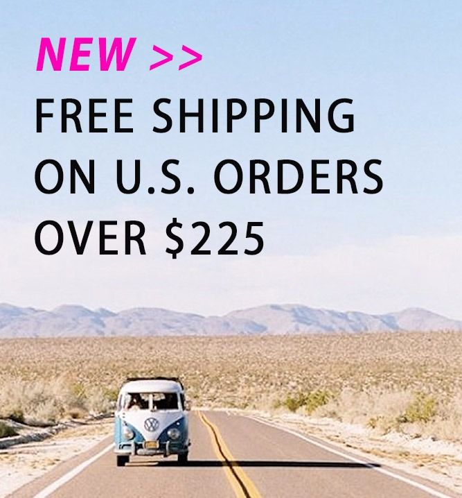 Free Shipping on orders over @225