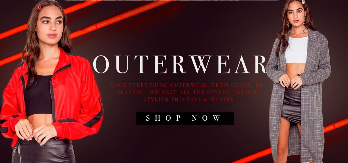SHOP OUTERWEAR - Wholesale Clothing for junior, plus size and kids